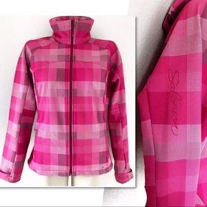Salomon Jackets & Coats - SALOMON CLIMA PRO 10,000 PINK PLAID SKI JACKET S